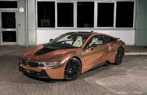 Picture of BMW I8 2017/67 WITH CHROME ROSE GOLD WRAP For Sale