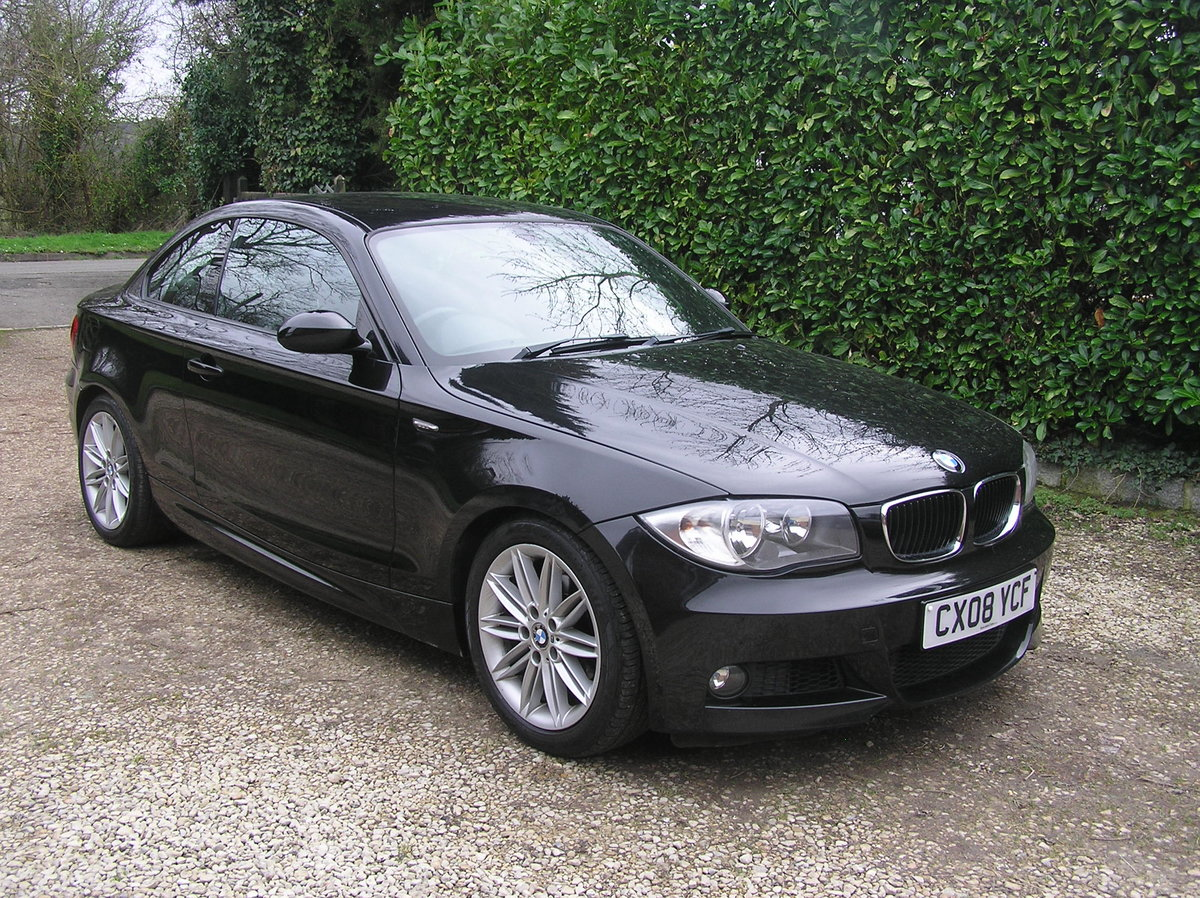 2008 BMW 1 Series 2.0 120d M Sport 2dr coupe For Sale (picture 1 of 6)