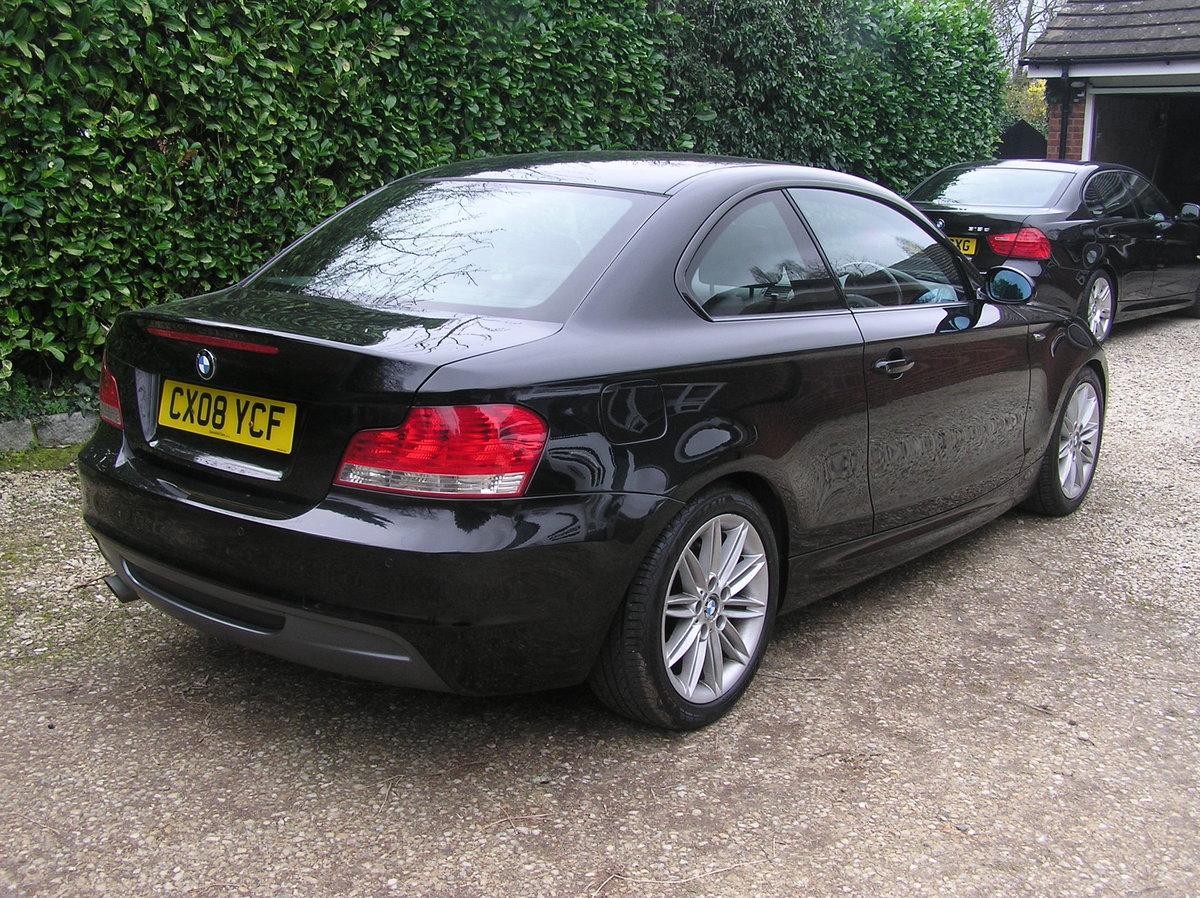 2008 BMW 1 Series 2.0 120d M Sport 2dr coupe For Sale (picture 2 of 6)