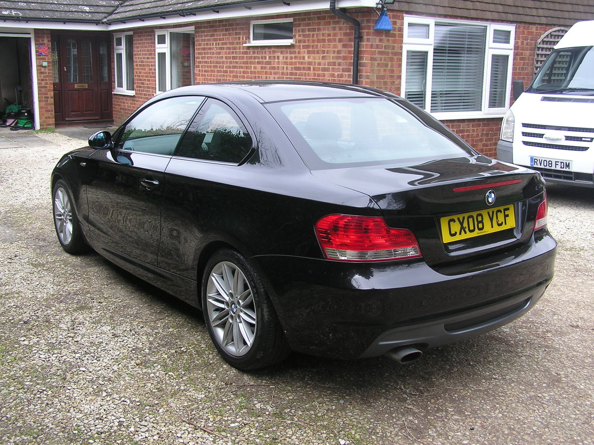 2008 BMW 1 Series 2.0 120d M Sport 2dr coupe For Sale (picture 3 of 6)