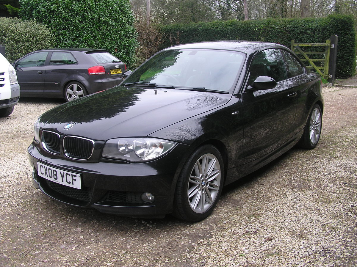 2008 BMW 1 Series 2.0 120d M Sport 2dr coupe For Sale (picture 4 of 6)