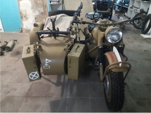 1946 BMW R75  ( Soviet Army small series)