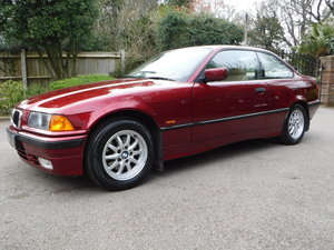 Picture of BMW 3 Series 1.6 316i 2dr 1997 R-Reg 42,000 MILES SOLD