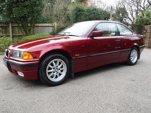 BMW 3 Series 1.6 316i 2dr 1997 R-Reg 42,000 MILES