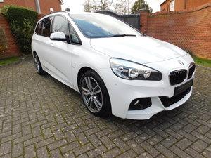 2017 17 BMW 218d 2.0d M-Sport Gran Tourer 7 Seater Automatic