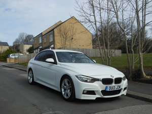 2013 BMW 320D M Sport Auto New Shape White + RED LEATHER SOLD