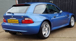 1999 Superb Z3 M Coupe S50 5 Speed - Only 59K Miles - FSH For Sale