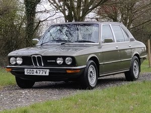 Picture of BMW E12 528i 1979 SOLD SOLD