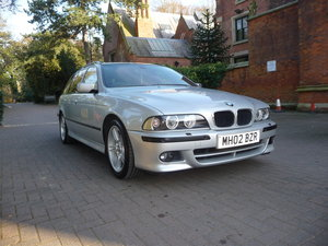 2002 Beautiful b.m.w e39 530 d m sport touring