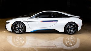 2015 BMW  i8 1.5L Turbocharged I-3 plus E-Drive Electric $69