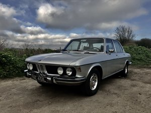 1973 Stunning BMW E3 2500 LHD 38000km from new