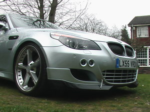 M5 620 BHP* SuperPerformance Modifications cost £155K Total