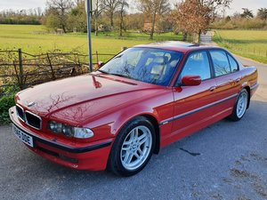 BMW 740I M SPORT AUTO SALOON - IMOLA RED - ONLY 1 IN THE UK