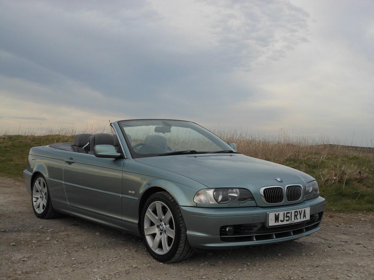 2001 BMW 330Ci M Sport Spec Convertible Manual E46 SOLD (picture 1 of 6)