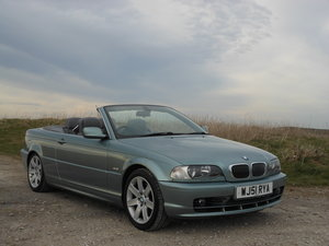 2001 BMW 330Ci M Sport Spec Convertible Manual E46 SOLD