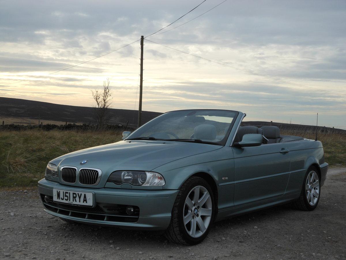 2001 BMW 330Ci M Sport Spec Convertible Manual E46 SOLD (picture 4 of 6)