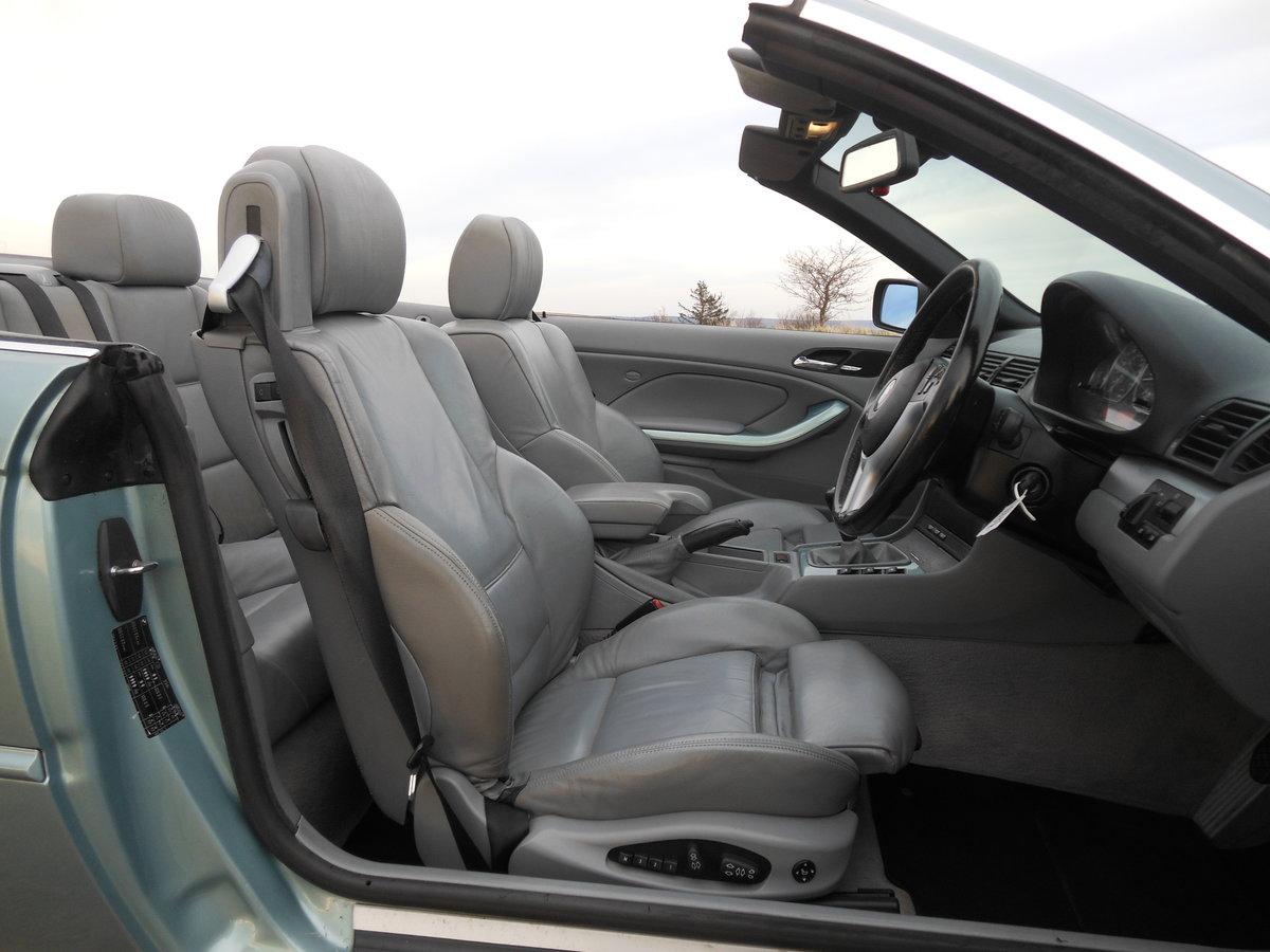 2001 BMW 330Ci M Sport Spec Convertible Manual E46 SOLD (picture 5 of 6)