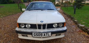 1988 1989 BMW 635 CSI HIGHLINE  Auction ends tonight at 8pm