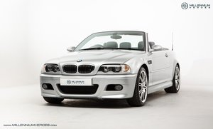 BMW E46 M3 CAB // 2005 // MANUAL // 25K MILES // HUGE OPTION For Sale