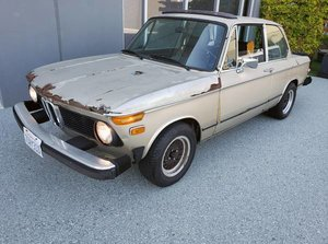 1974 BMW 2002 4 Speed Factory Sunroof Project  $3.9k
