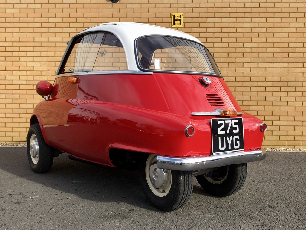 1961 BMW ISETTA 0.3L // Iconic Bubble Car // Px swap For Sale (picture 3 of 10)