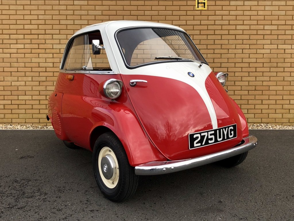 1961 BMW ISETTA 0.3L // Iconic Bubble Car // Px swap For Sale (picture 4 of 10)