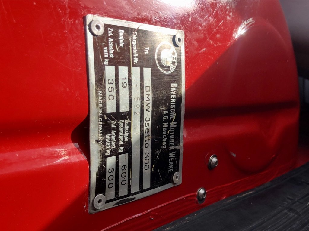 1961 BMW ISETTA 0.3L // Iconic Bubble Car // Px swap For Sale (picture 7 of 10)