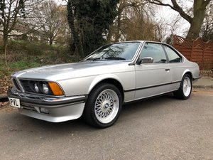 1985 BMW E24 635csi