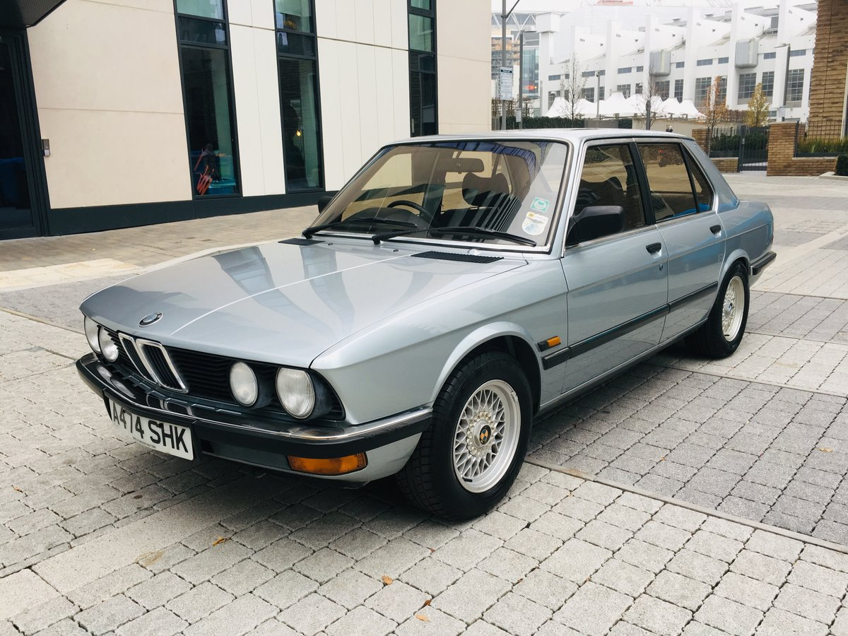 1984 Bmw 520i manual 54k miles- 1 keeper car For Sale (picture 1 of 6)