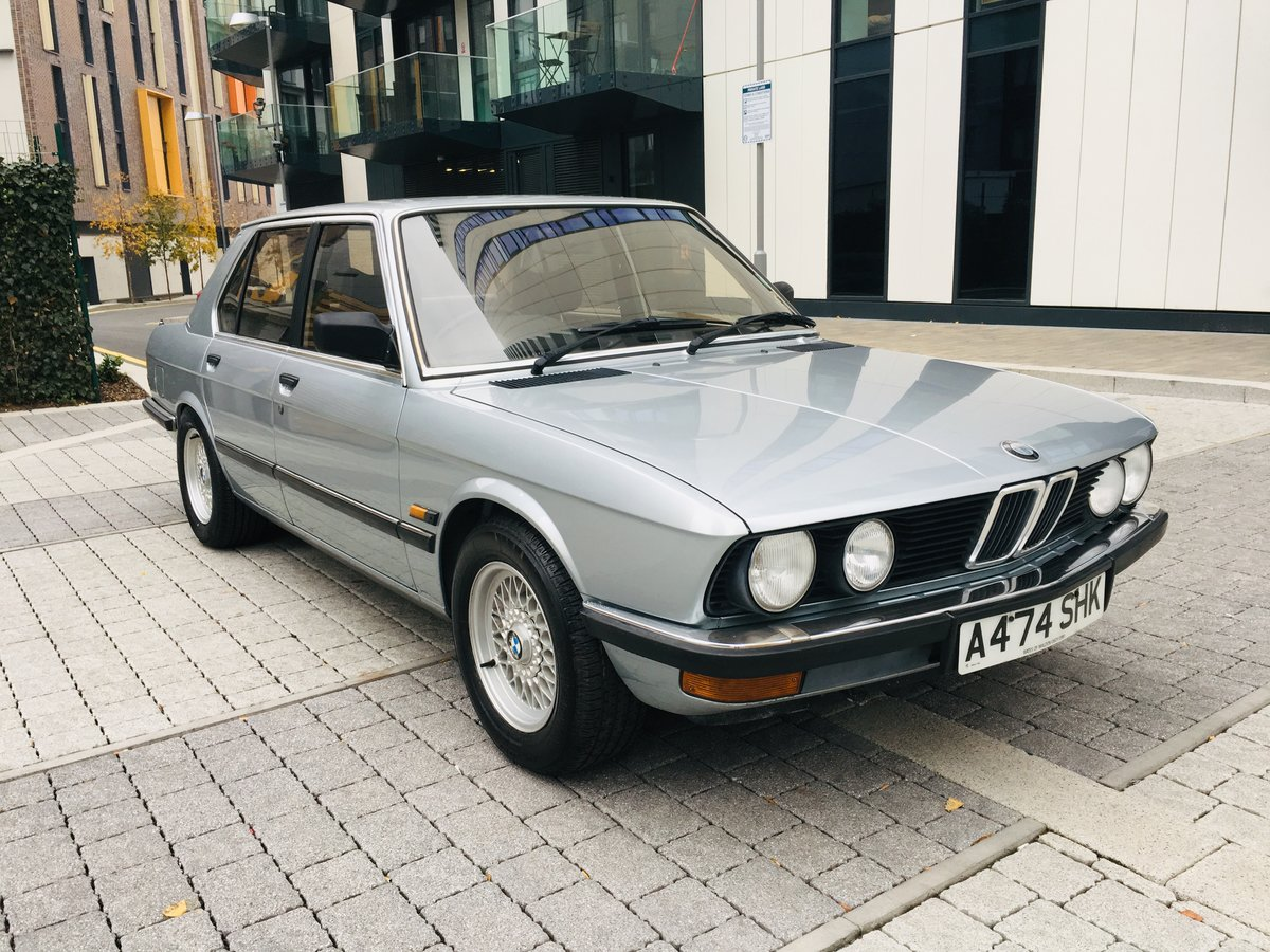 1984 Bmw 520i manual 54k miles- 1 keeper car For Sale (picture 2 of 6)