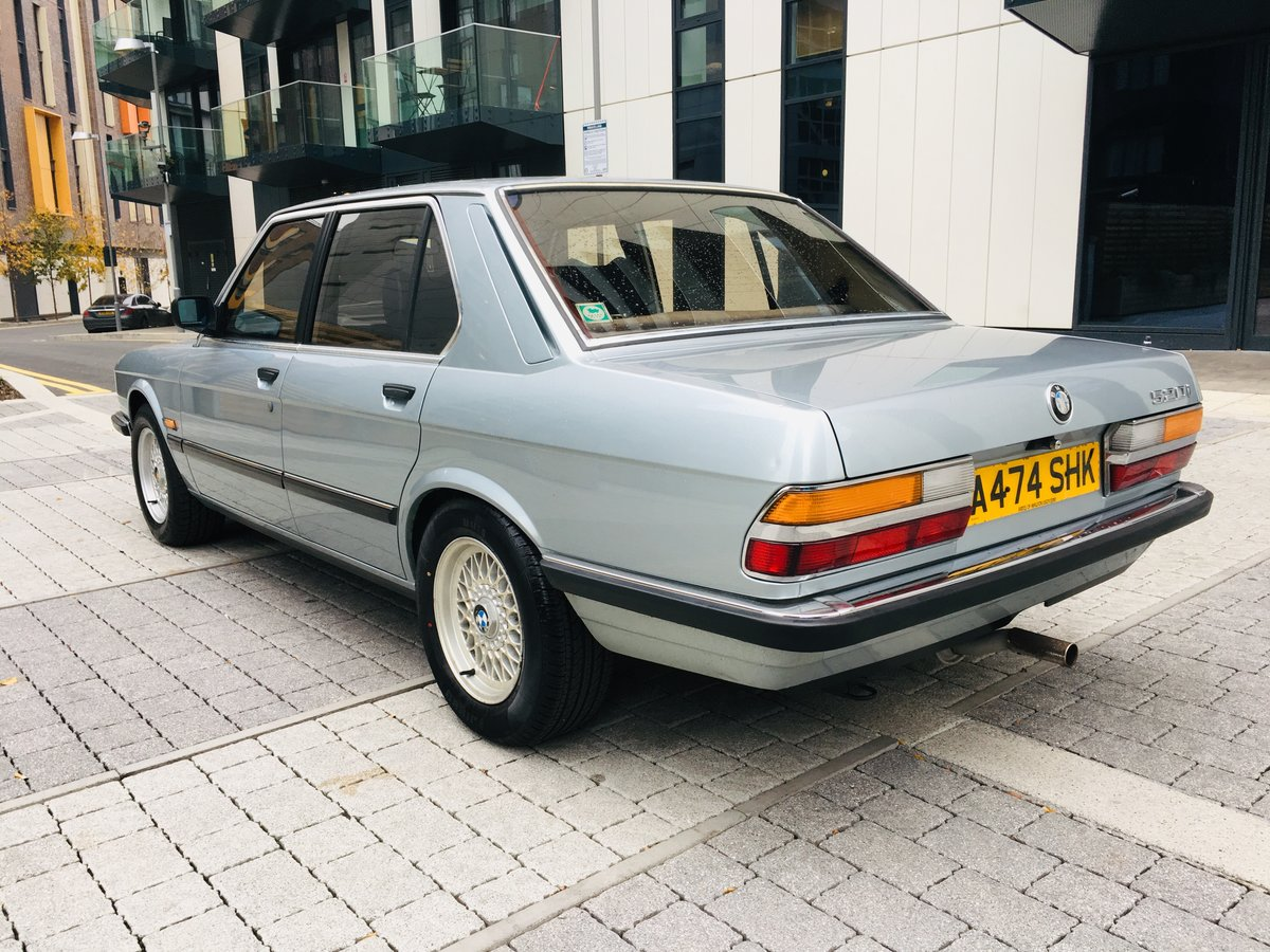 1984 Bmw 520i manual 54k miles- 1 keeper car For Sale (picture 3 of 6)