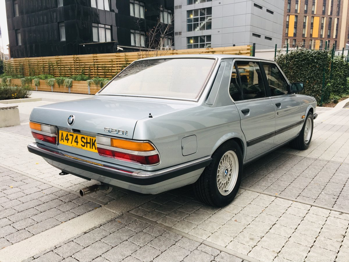 1984 Bmw 520i manual 54k miles- 1 keeper car For Sale (picture 4 of 6)