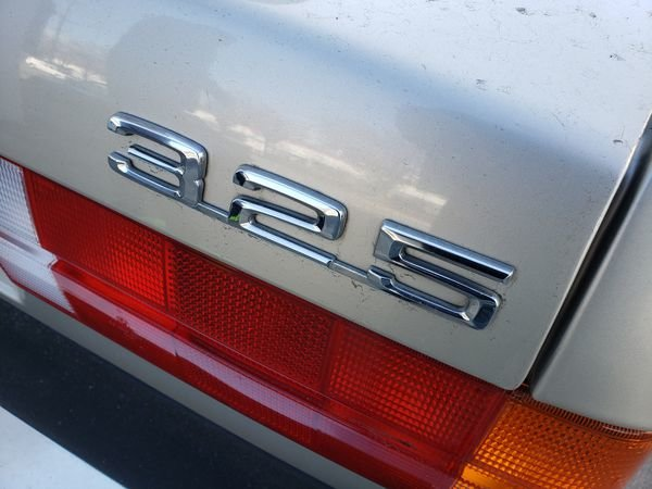 1987 BMW 325 Auto 2.7 liter ETA engine clean Silver $4.2k For Sale (picture 3 of 6)