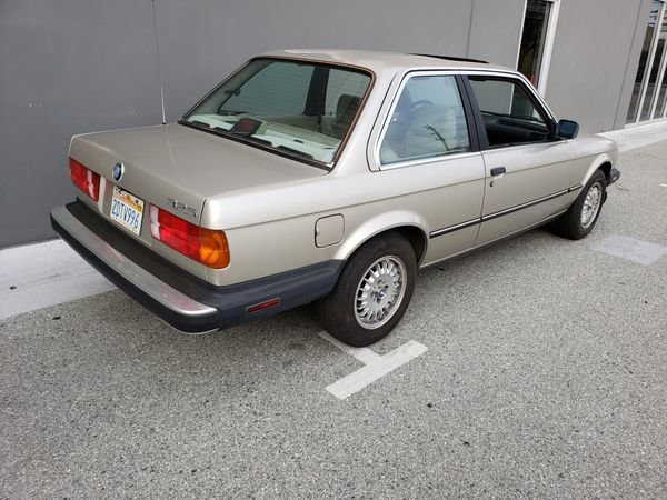 1987 BMW 325 Auto 2.7 liter ETA engine clean Silver $4.2k For Sale (picture 4 of 6)