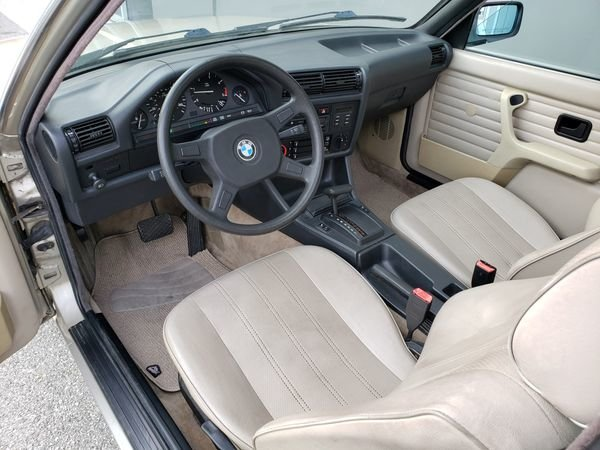 1987 BMW 325 Auto 2.7 liter ETA engine clean Silver $4.2k For Sale (picture 5 of 6)