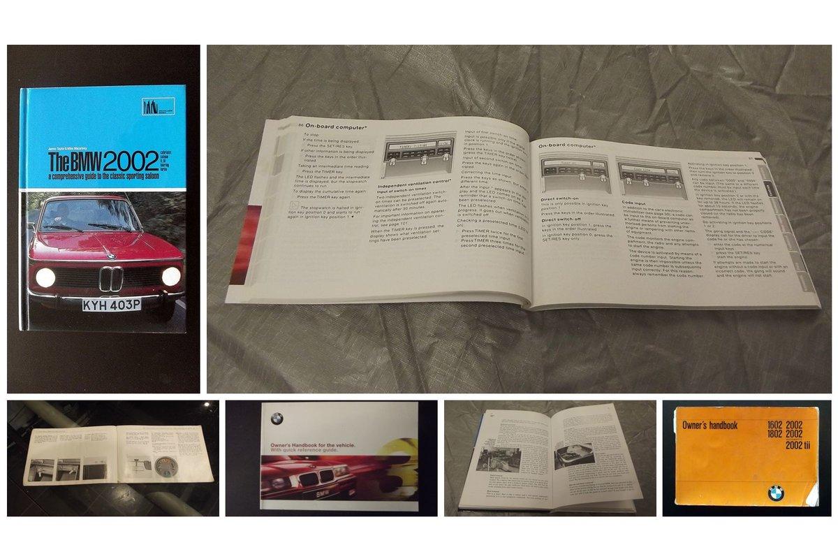 0000 BMW MEMORABILIA OWNERS HANDBOOK 2002 ETC For Sale (picture 2 of 6)