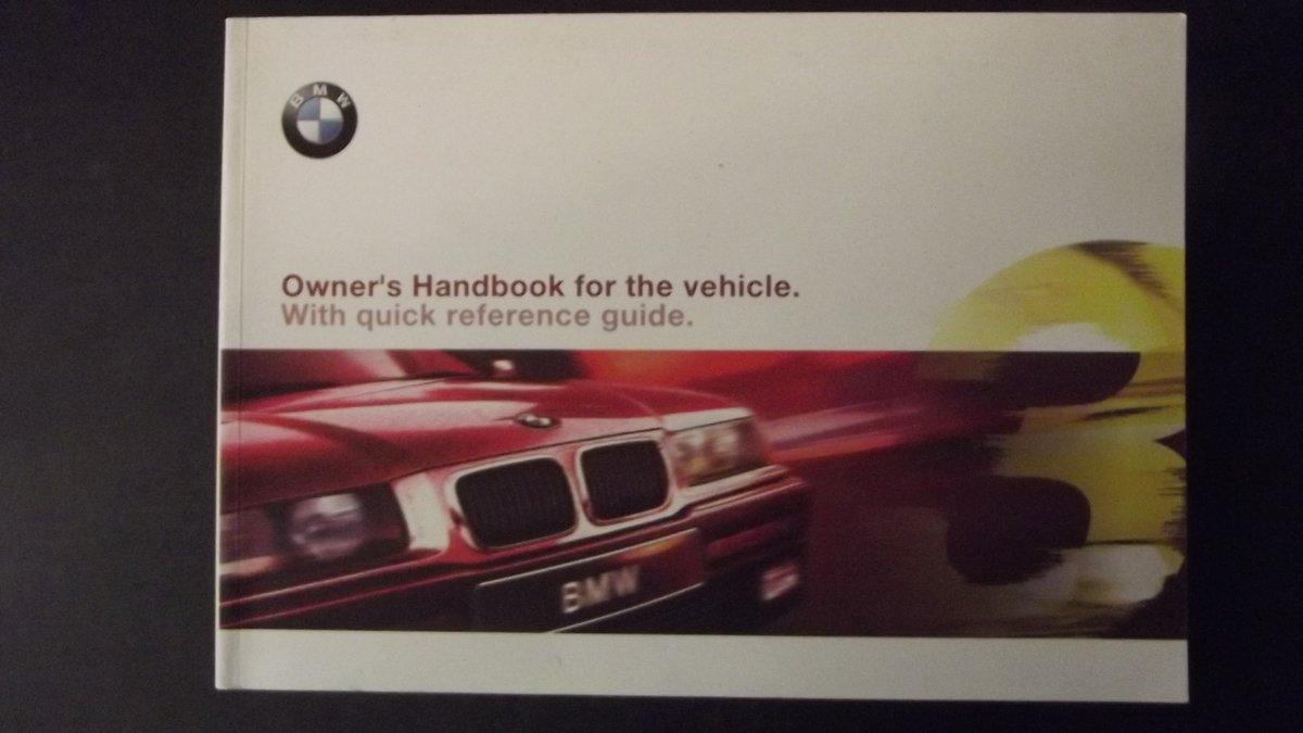 0000 BMW MEMORABILIA OWNERS HANDBOOK 2002 ETC For Sale (picture 6 of 6)