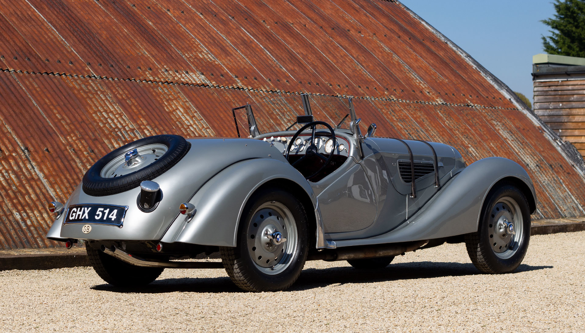 1938 Frazer Nash BMW 328 - Period history For Sale (picture 2 of 6)