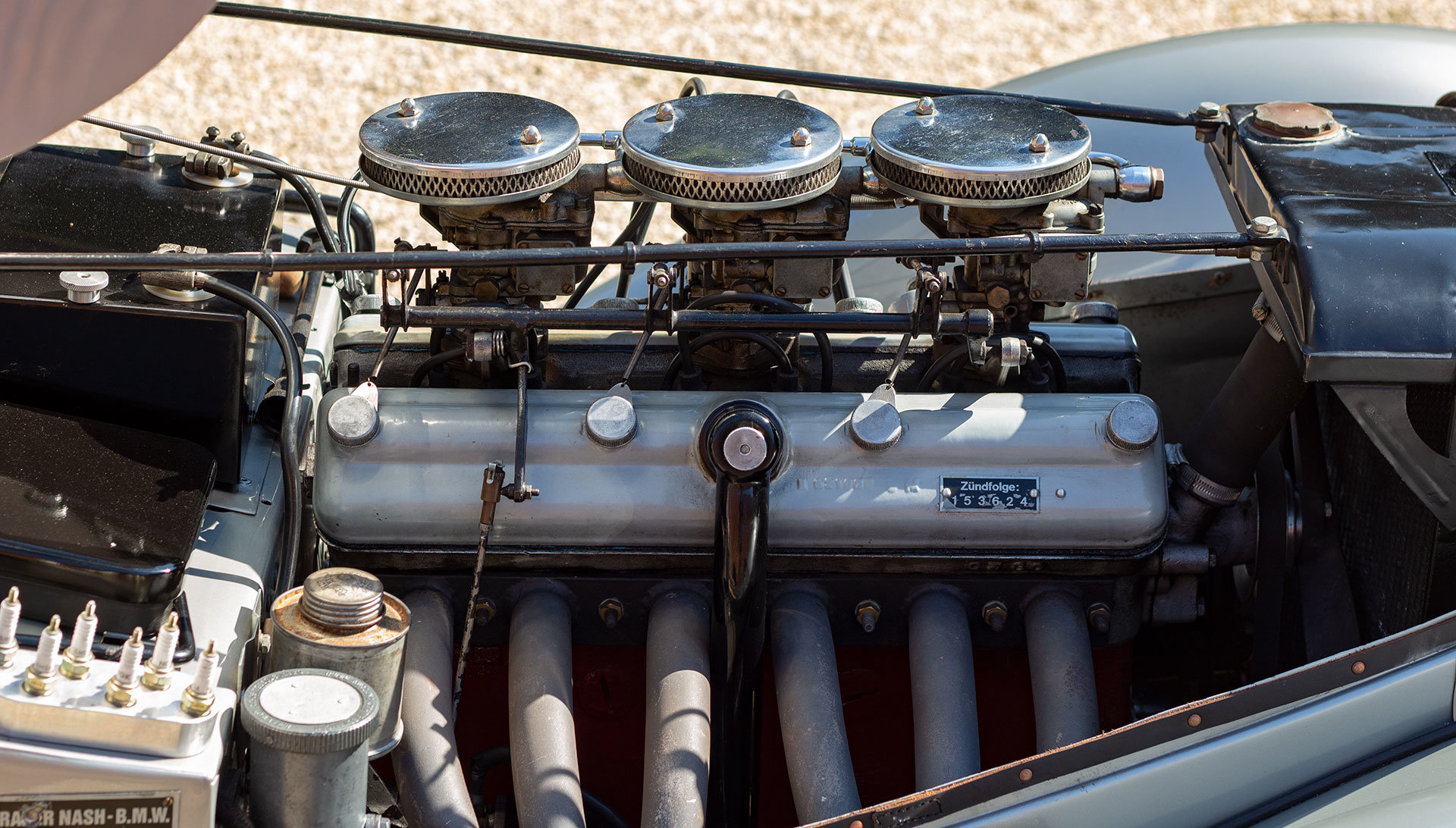 1938 Frazer Nash BMW 328 - Period history For Sale (picture 6 of 6)