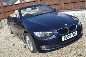 2009 BMW 320 SE AUTOMATIC PETROL CONVERTIBLE