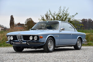 1972 Rare BMW 3.0 CSi with 4-speed manual and steel sunroof For Sale