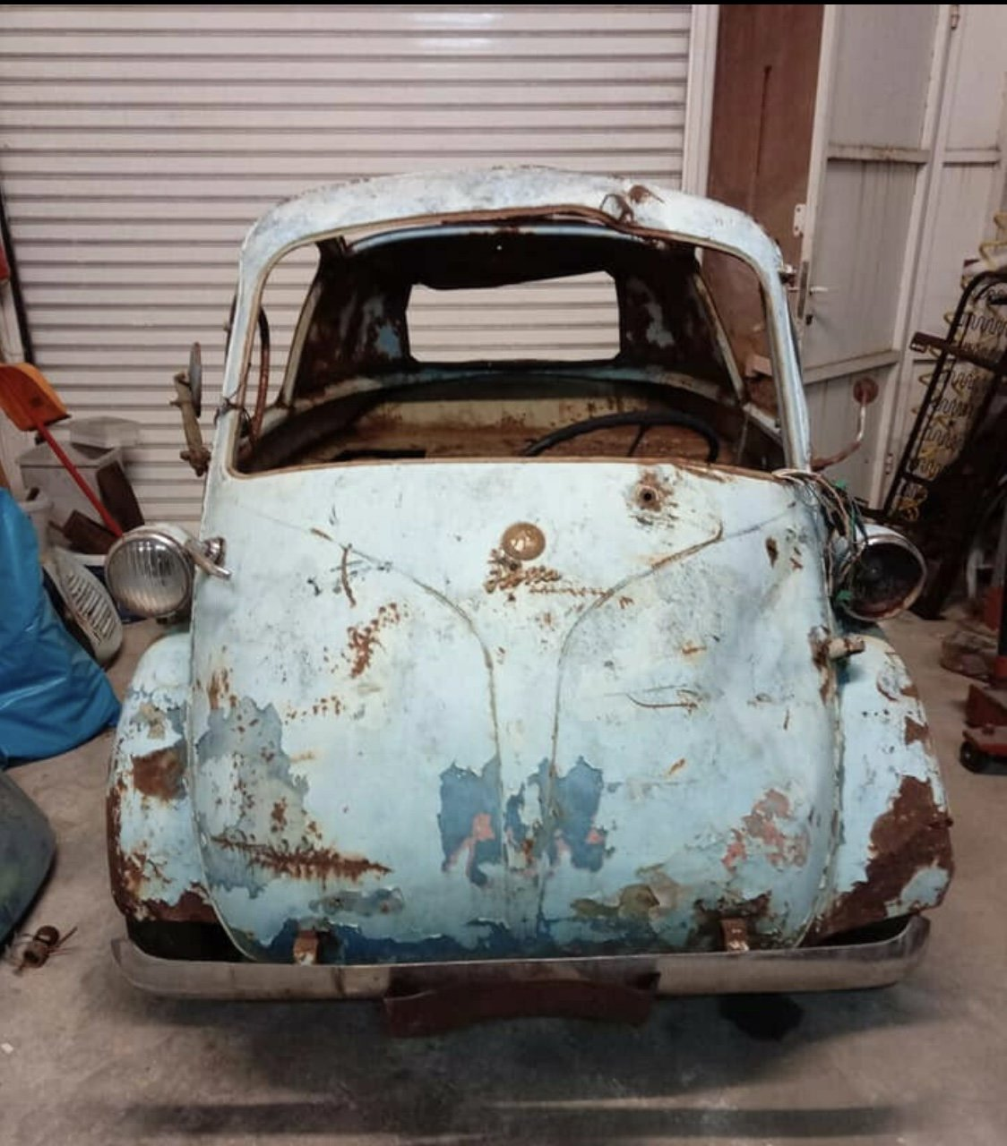 1957 Rare Isetta Bubblewindow For Sale (picture 1 of 6)