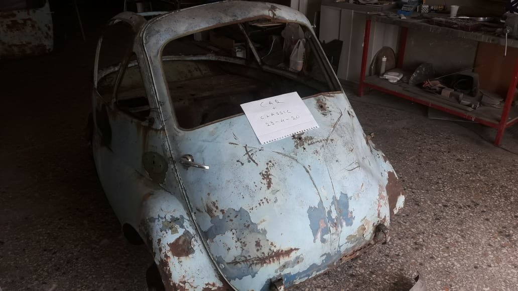 1957 Rare Isetta Bubblewindow For Sale (picture 2 of 6)