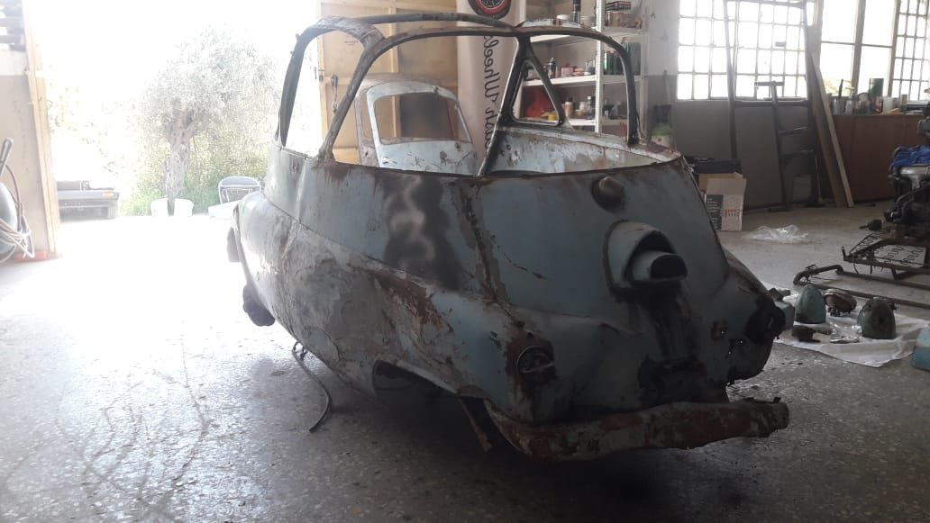 1957 Rare Isetta Bubblewindow For Sale (picture 5 of 6)