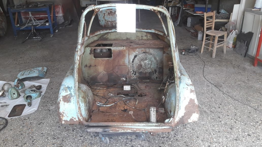 1957 Rare Isetta Bubblewindow For Sale (picture 6 of 6)