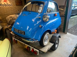 1962 BMW Isetta and Trailer For Sale by Auction