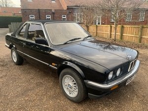 1984 BMW 320i Cabriolet For Sale by Auction