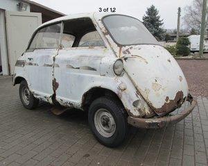 1958 Rare Isetta 600 Barnfind + spares