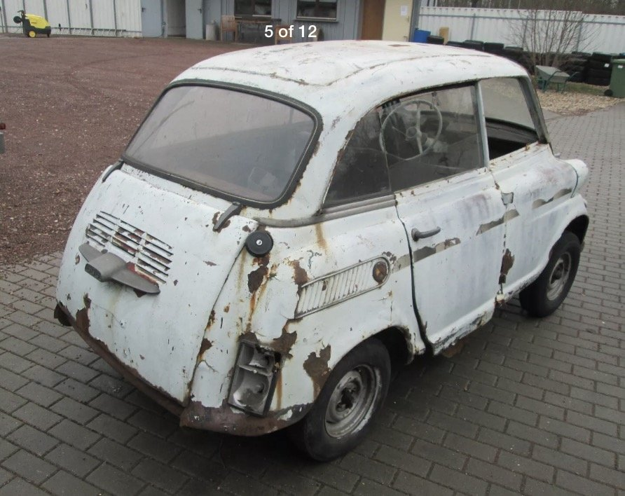 1958 Rare Isetta 600 Barnfind + spares For Sale (picture 5 of 6)