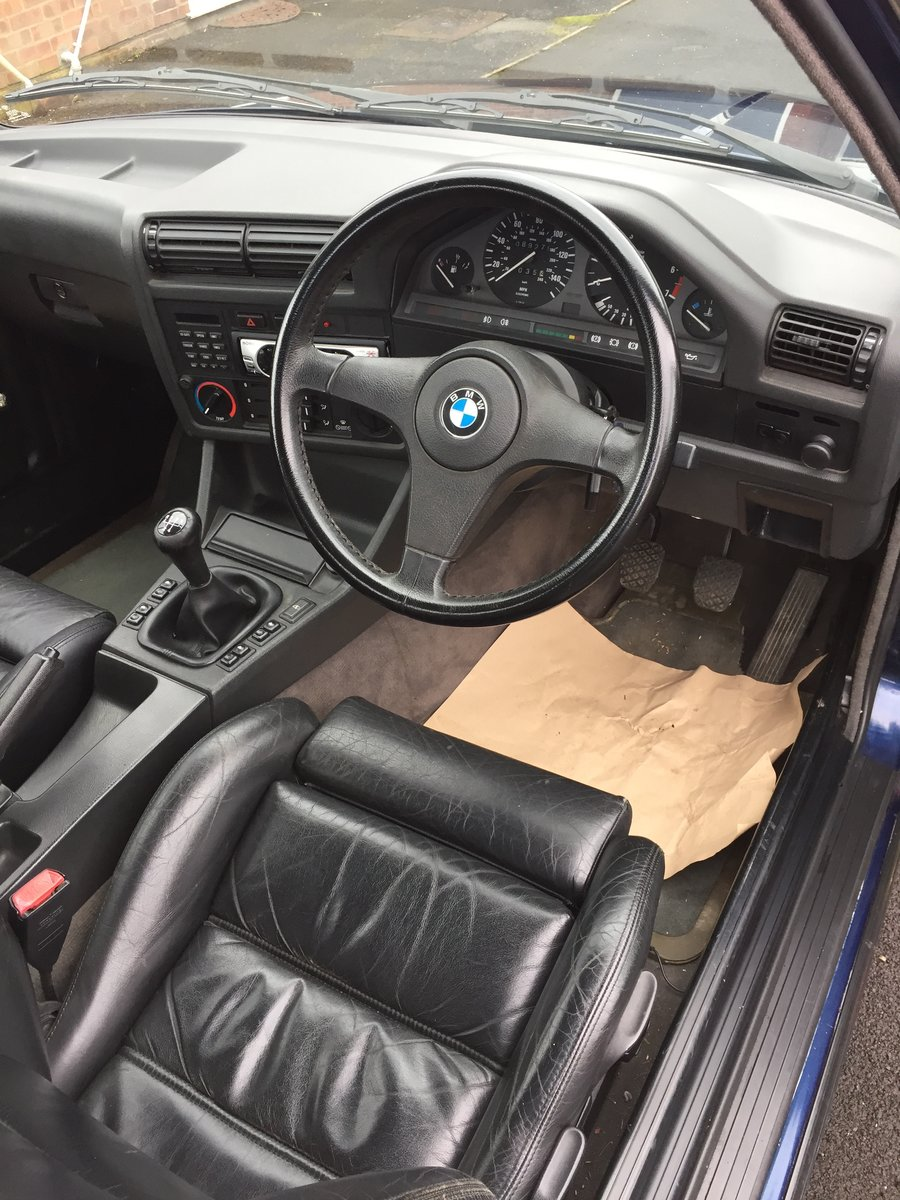 1991 BMW 325i E30 Cabriolet SOLD (picture 6 of 6)